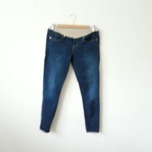 Gap Maternity Dark Blue Legging Jean